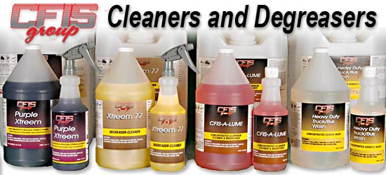 CFIS Group Cleaners and Degreaasers
